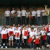 Vorarlberger Jugendmusikkapellen begeisterten beim Landeswettbewerb. D6
