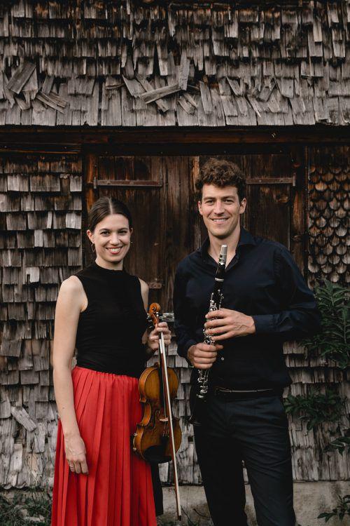 Natalia Sagmeister und Alex Ladstätter leiten das Festival. rainer