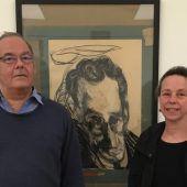Historikerpaar Sagmeister bringt Edmund Kalb ins Leopold Museum in Wien. D4