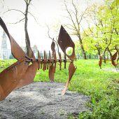 Skulpturen, die eine Geschichte erzählen