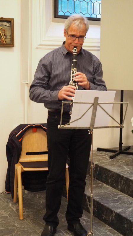 Franz List sorgte an der Klarinette für Auflockerung.