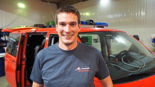 Freut sich auf die Jubiläumsfeierlichkeiten seiner Feuerwehr: Martin Amann. ceg