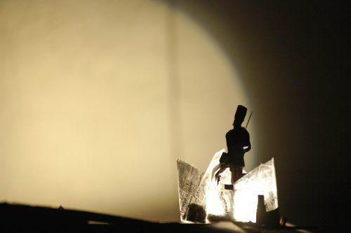 Furiose Schauspielkunst und magische Schatten beim Homunculus-Festival. Veranstalter