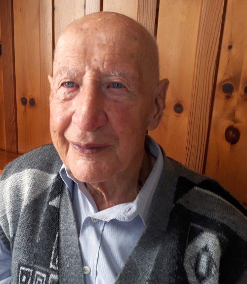 Georg Partl feierte seinen 97. Geburtstag. Seniorenbund Thüringen