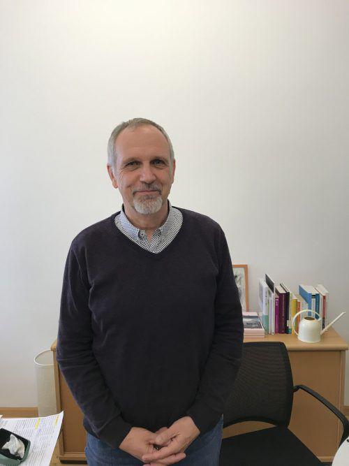 """Gerhard Heinritz leitet das Projekt """"Pädagogische Kooperation"""". VN/Hämmerle"""