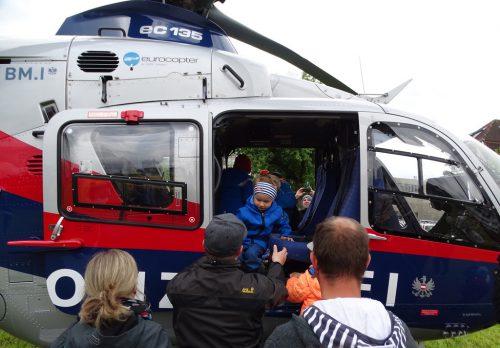 Großes Interesse für die beiden Helikopter.tf