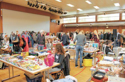 Höchst lädt am kommenden Sonntag, 19. Mai, von 10 bis 16 Uhr zum zweiten Mädelsflohmarkt in die Rheinauhalle ein.Thomas Natter
