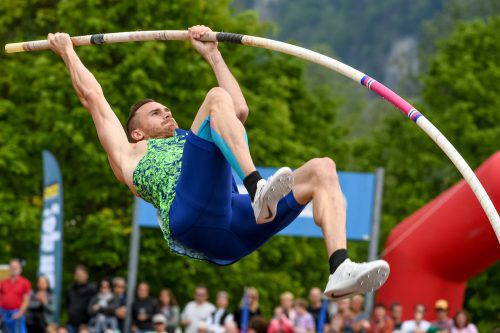 Höhepunkt Stabhochsprung: Dominik Distelberger schaffte in Götzis fünf Meter, egalisierte damit seine eigene Bestmarke.
