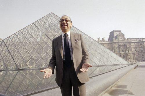 I. M Pei wurde in den 1980er-Jahren mit dem Ausbau des Louvre beauftragt. AP