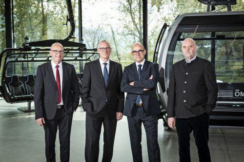 Im Herbst übernehmen Thomas Pichler und István Szalai die Führung der Doppelmayr Holding von Michael Doppelmayr und Hanno Ulmer. Doppelmayr