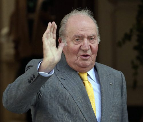 Im Juni 2014 hat Juan Carlos abgedankt und den Thron an seinen Sohn Felipe übergeben. AP
