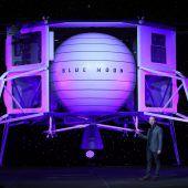 Bezos plant Mondmission