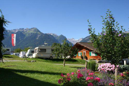 In Österreich auf Platz 16 der beliebtesten Campingplätze, in Europa Nummer 62: Panoramcamping Sonnenberg in Nüziders. FA/M.Rhomberg
