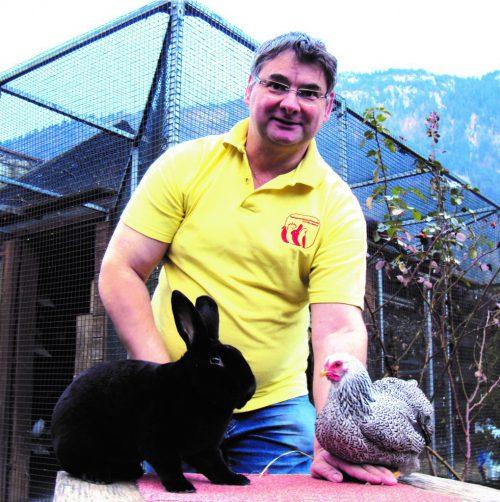 Alfred Rützler informiert in Vandans über allerlei Arten von Kleintieren. Verein