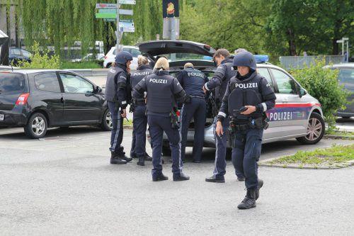 Softgun-Alarm: Am 22. Mai musste die Polizei in Lustenau ausrücken. vol.at/Rauch