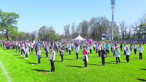 Insgesamt 1700 Aktive, 90 davon von der TS Wolfurt, sind Teil der großen Eröffnungsfeier am Sonntag, 7. Juli. TS Wolfurt