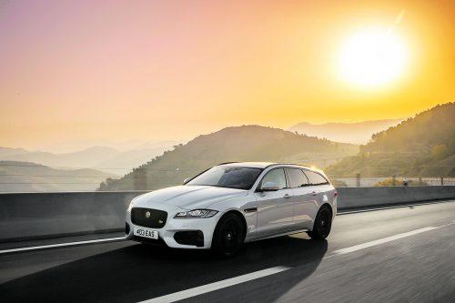Jaguar XF Sportbrake: Der Brite ist in seiner zweiten Generation noch sportlicher geworden, das Ladevolumen ist dennoch mehr als ordentlich.