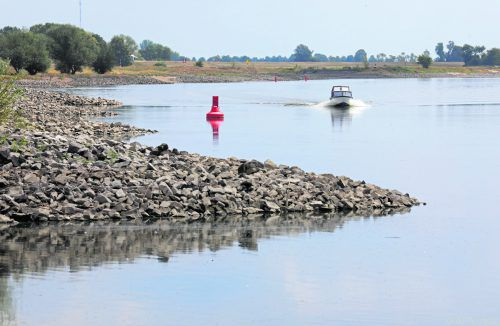 Je länger die Flüsse werden, desto stärker sind sie vom Menschen beeinflusst.