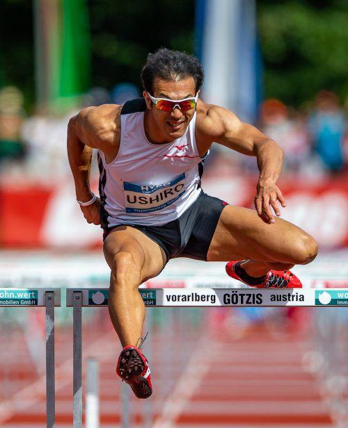 Keisuke Ushiro kommt mit Gold von den Asien-Spielen nach Götzis.pa