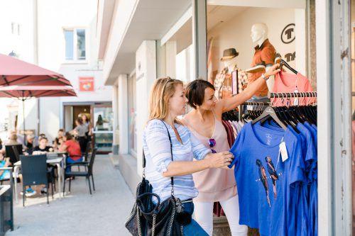 Kundinnen haben in Bludenz heute und morgen die Chance ihren Einkauf in Form von Städtle-Gutscheinen zurückzugewinnen. WIGE Bludenz