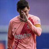 Messi Topfavorit auf Goldenen Schuh