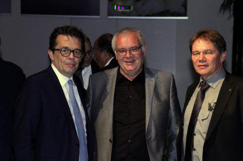 Manfred und Hubert Sigg luden zur Feier anlässlich 140 Jahre Tischlerei Sigg.