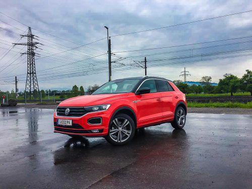 Markant und progressiv und dennoch immer noch deutlich als Volkswagen erkennbar. So präsentiert sich der neue T-Roc.VN/Reh