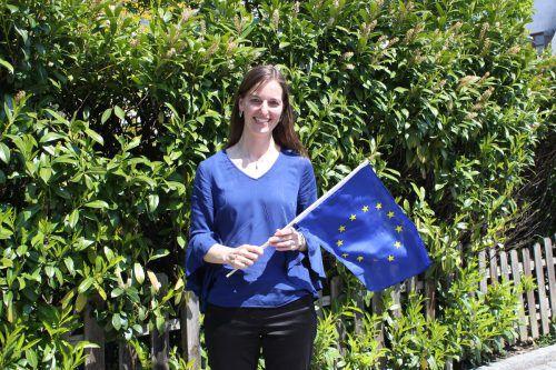 Martha Stüttler-Hartmann interessiert sich seit Studienzeiten sehr für die Europäische Union. vn/JLO