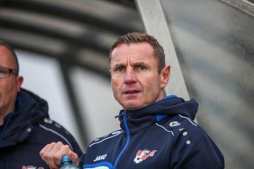 Martin Schneider wird ab Sommer Trainer beim FC Hard. vN-sams