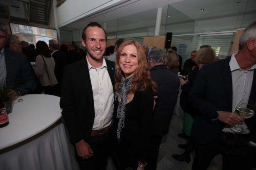 Mathias Galler und Kathrin Schichtl (Bausparkasse).