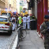 Explosion in Fußgängerzone