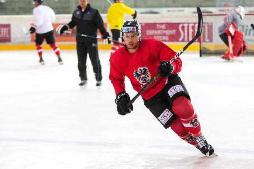 Michael Raffl ist bei der Eishockey-WM in der Slowakei Österreichs einzige Verstärkung aus der NHL.apa