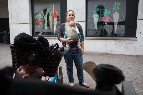 Miriam Walla sieht die Teilnahme an Wahlen gerade jetzt als sehr wichtig anund will ein lebenswertes Europa für ihren Sohn.