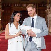 Lob für Meghan nach Auftritt mit Baby