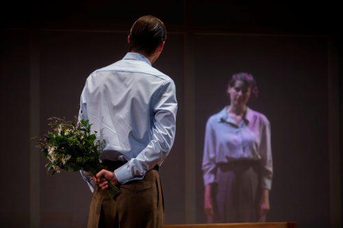 """Mit """"Der Flüchtling"""" ist dem Vorarlberger Landestheater eine herausragende Umsetzung des Stücks von Fritz Hochwälder gelungen.VN/Paulitsch"""