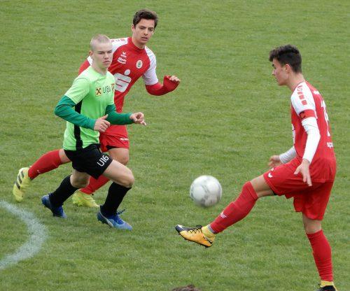 Mit der Niederlage gegen die Austria Lustenau rutscht die U18 des FC Dornbirn in der Gruppe A auf den sechsten Rang.cth