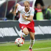 Austria angelt sichEx-Leipzig-Spieler