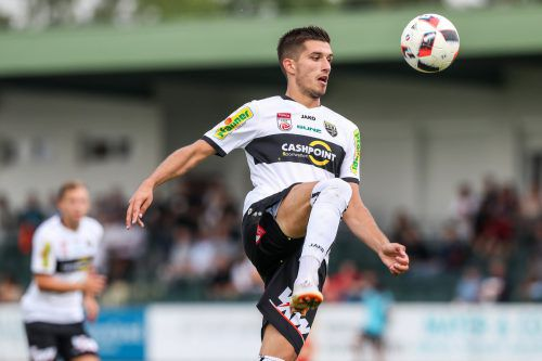 Nach einer für ihn enttäuschenden Saison in Altach freut sich Adrian Grbic auf eine neue Herausforderung.gepa