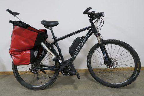 """Neben dem Toten stand dieses Fahrrad der Marke """"Centurion"""". polizei"""
