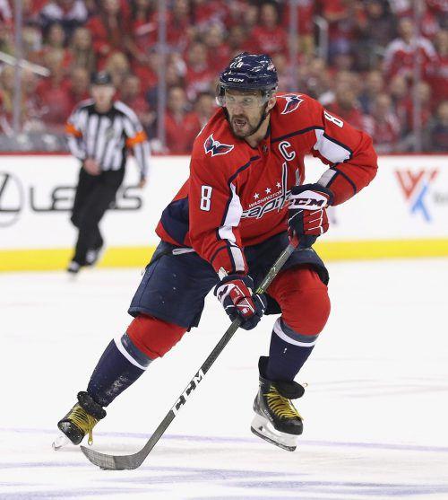 NHL-Torschützenkönig Alexander Owetschkin führt das Staraufgebot des russischen Eishockey-Teams an.afp