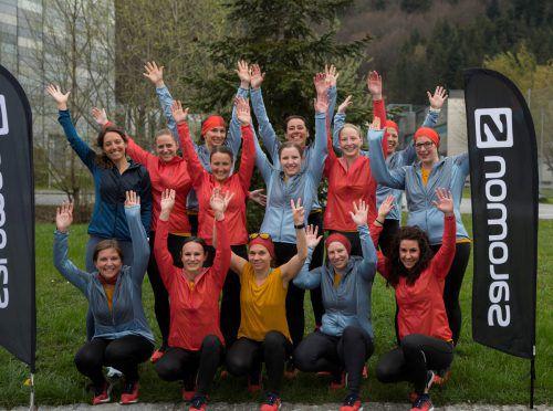 Nur noch wenige Wochen, dann können die Salomon-Ladys beim Bodensee-Frauenlauf zeigen, wie gut sie trainiert haben.vn/paulitsch