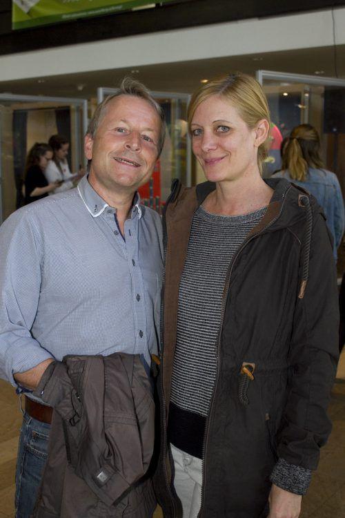 Pädagogen Günter Schneider und Silvia Klammer.