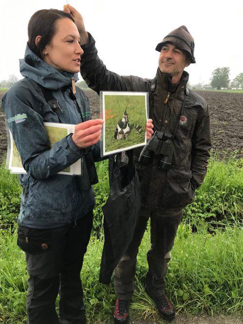 Petra Häfele (Naturvielfalt) und Dieter Baurenhas (Jagdschutzorgan).