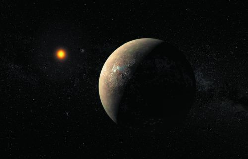 Proxima hat nur ein Achtel der Sonnenmasse und ein Sechstel ihres Durchmessers.Reuters