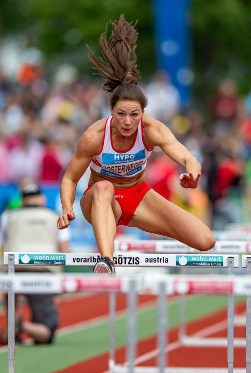 Rookie of the Meeting Emma Oosterwegel erzielte sechs Bestleistungen.
