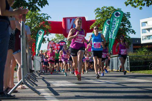 Rund 5000 Läuferinnen haben sich bereits angemeldet. VN/steurer
