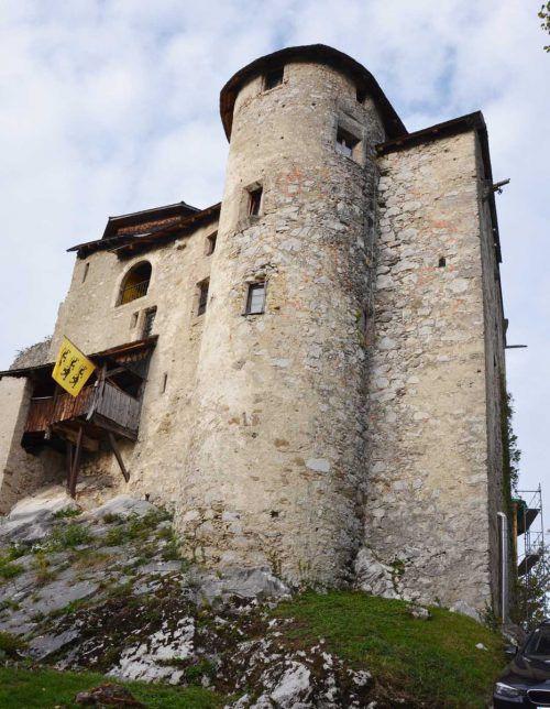 Schloss Glopper ist im Rahmen der Hohenemser Emsiana erstmals öffentlich zugänglich.tf