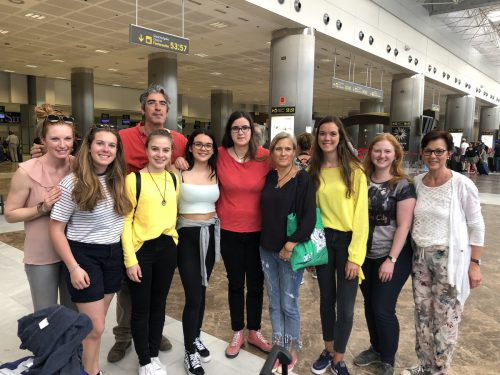 Schüler des BG Dornbirn lernten auf Teneriffa Land und Leute kennen. lcf