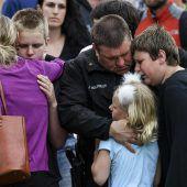 Ein Toter und acht Verletzte nach Schüssen an US-Schule