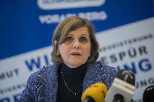 Schullandesrätin Barbara Schöbi-Fink war von den Bildern aus Wien erschüttert.VN/Steurer